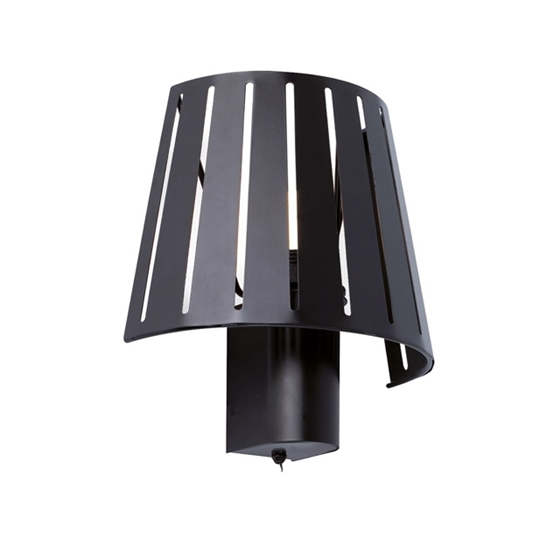 Picture of APPLIQUE A PARETE - MIX WALL LAMP - NERO