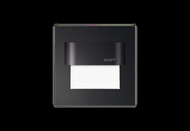 Immagine di SEGNAPASSO INTERNO/ESTERNO - TANGO STICK - nero - 0.8W -  installazione con colla o nastro biadesivo