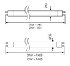 Immagine di T5-8W / 65 Lampadina fluorescente lineare