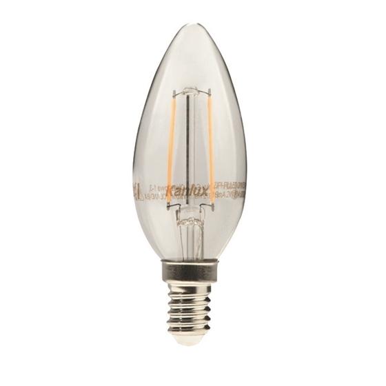 Picture of ZIPI FILLED 2W E14 - WW - LED A FILAMENTO MODELLO CANDELA