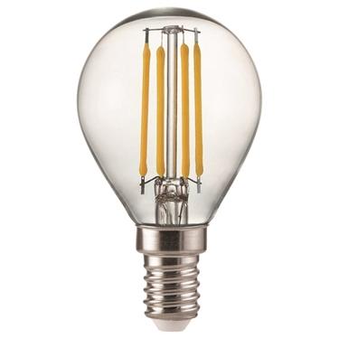 Immagine di NUPI FILLED 4W E14 - WW -  MINI GLOBE  CON LED SMD