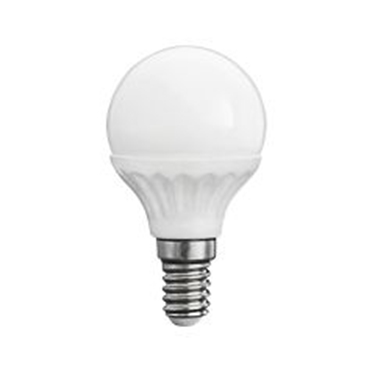 Picture of BILO 5W T SMD E14 - WW - LAMPADINA MINI GLOBO LED CON VETRO BIANCO