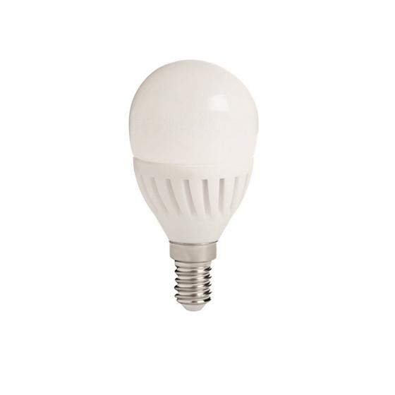 Immagine di BILO HI 8W E14 - LAMPADINA MINI GLOBO LED CON VETRO BIANCO