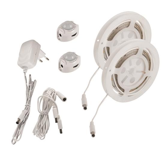 Immagine di Set LED con sensore di movimento - LEDS SET B - SE DBL - 6,5W - 1,2M