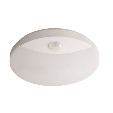 Immagine di SANSO LED 15W - NW - SE -  PLAFONIERA LED IP44 CON SENSORE DI MOVIMENTO
