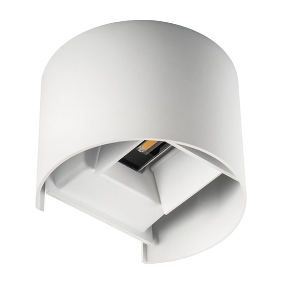 Picture of REKA LED EL 7W  - O - W - APPLIQUE DA PARETE IP54