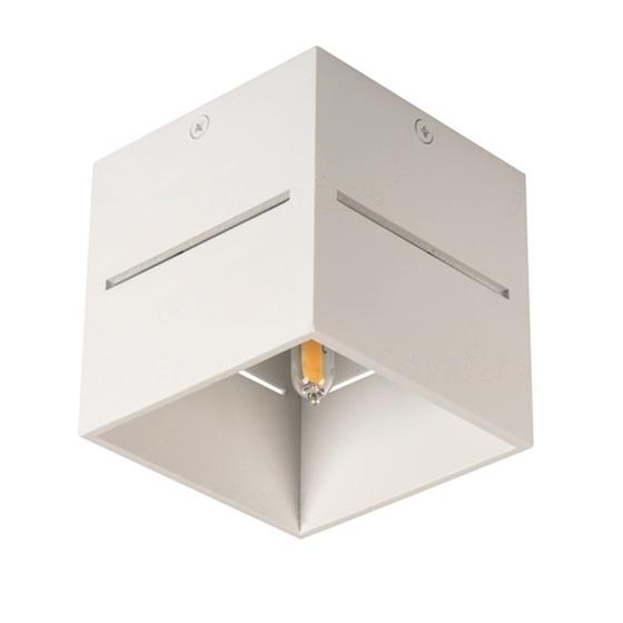 Immagine di ASIL G9 C-W- faretto non a incasso da soffitto quadrato