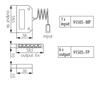 Picture of DB - FF6 12/24VDC - ACCESSORIO PER INSTALLAZIONE DI ILLUMINAZIONE