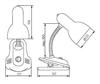 Picture of SUZI HR - 60 B- LAMPADA CON CLIP
