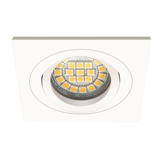 Picture of SEIDY CT DTL 50 W/M BIANCO - FARETTO A INCASSO