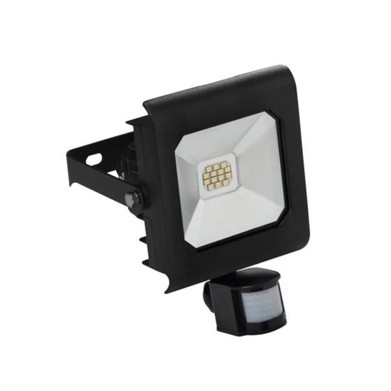 Immagine di ANTRA LED 10W - NW - SE - B - IP44 - FARO LED DA ESTERNO CON SENSORE DI MOVIMENTO