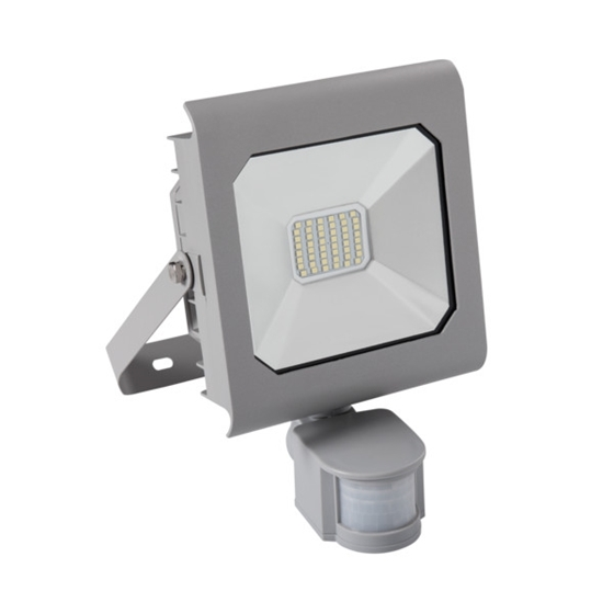 Picture of ANTRA LED 30W - NW - SE - GR - IP44 - FARO LED DA ESTERNO CON SENSORE DI MOVIMENTO