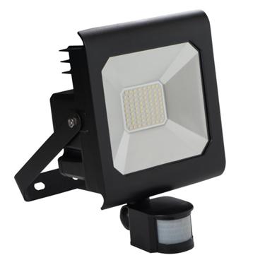 Immagine di ANTRA LED 50W - NW - SE - B - IP44 - FARO LED DA ESTERNO CON SENSORE DI MOVIMENTO