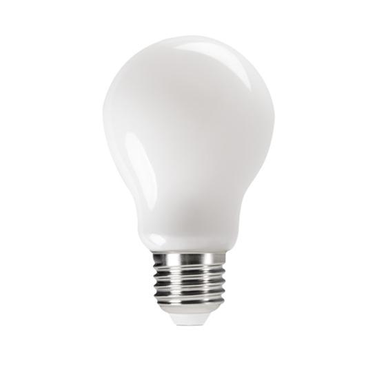 Picture of XLED M 4,5W  - E27 - LAMPADA A FILAMENTO A LED CON VETRO BIANCO - MODELLO A60