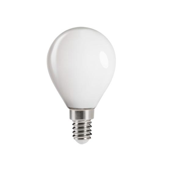 Picture of XLED G45 - E14 - 6W - M - LAMPADA A FILAMENTO A LED CON VETRO BIANCO