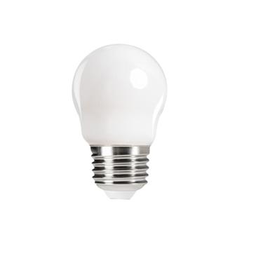 Immagine di XLED G45 - E27 - 6W - M - LAMPADA A FILAMENTO A LED CON VETRO BIANCO