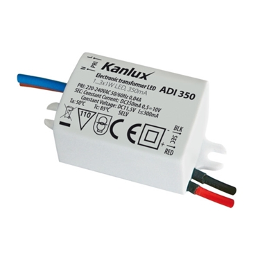 Picture of ADI 350 - 1 X 3W - ALIMENTATORE ELETTRONICO A LED