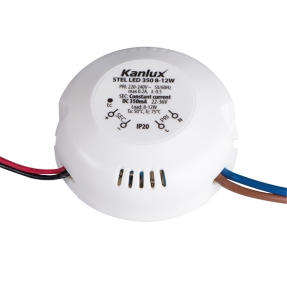 Picture of STEL LED 350 8-12W - ALIMENTATORE ELETTRONICO A LED