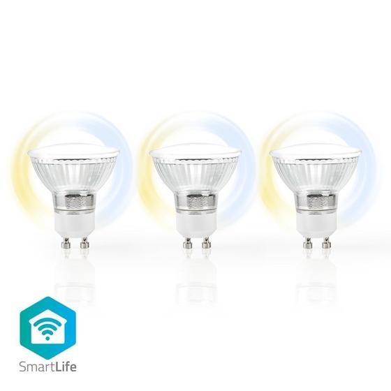 Immagine di LAMPADINE LED SMART WI-FI - GU10 - confezione da 3 - CW-WW - 5W