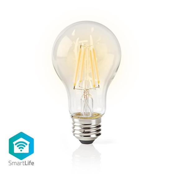 Immagine di LAMPADINE LED SMART WI-FI - FILAMENTO - E27 - WW - 5W - VETRO TRASPARENTE