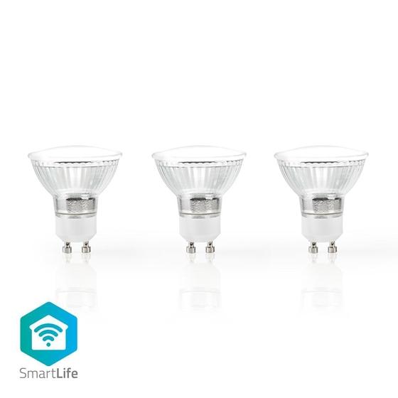 Immagine di LAMPADINE LED SMART WI-FI - WW - GU10 - pacco da 3 - 5W