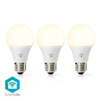 Immagine di LAMPADINE LED SMART WI-FI - WW - E27- pacco da 3 - 9W