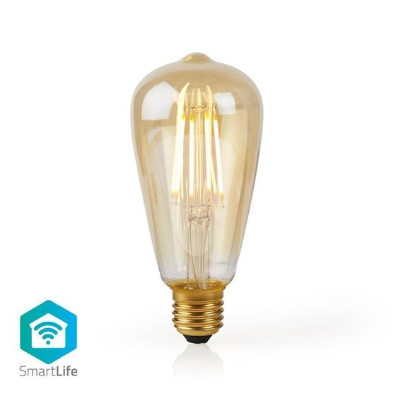Immagine di LAMPADINA LED SMART WI-FI CON FILAMENTO - WW - E27- ST64 | 5 W | 500 lm