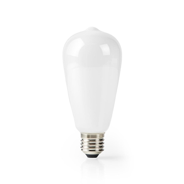 Picture of LAMPADINA LED SMART WI-FI - WW - E27- ST64 | 5 W | 500 lm - VETRO BIANCO