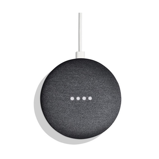 Immagine di GOOGLE HOME MINI - Altoparlante wireless nero US + adattatore