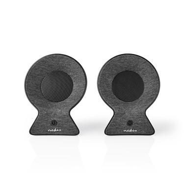 Picture of Altoparlante Bluetooth® in Tessuto   2 x 15 W   Fino a 4 Ore di Riproduzione   TWS (True Wireless Stereo)   ANTRACITE/NERO