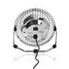 Picture of Miniventilatore in Metallo | Diametro 10 cm | Alimentazione tramite connessione USB | ARGENTO