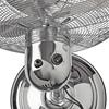 Immagine di Ventilatore a Piantana in Metallo | Altezza regolabile | Diametro 40 cm | 3 Velocità | Cromatura