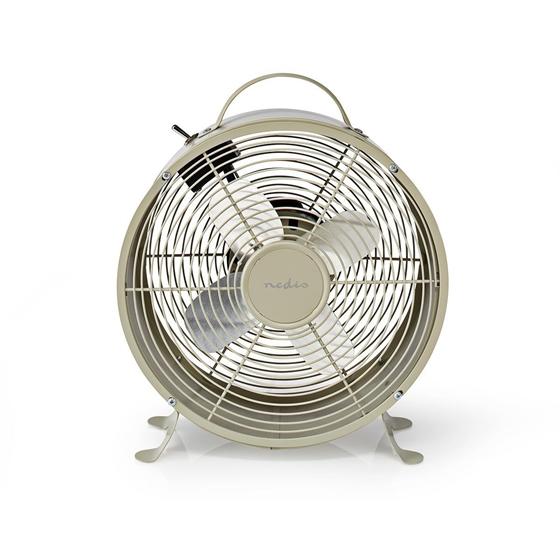 Picture of Ventilatore da Tavolo Rétro | Diametro di 25 cm | 2 Velocità | GRIGIO