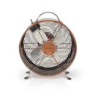 Picture of Ventilatore da Tavolo Rétro | Diametro di 25 cm | 2 Velocità | RAME