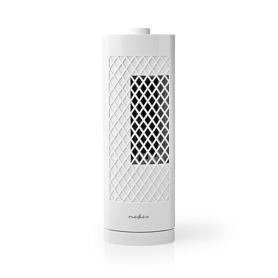 Picture of Ventilatore Tower da Scrivania | Altezza 30 cm | 3 Velocità | Oscillazione | Bianco