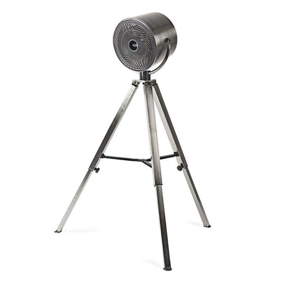 Picture of Ventilatore con treppiede | Diametro 25 cm | 3 velocità | Metallo spazzolato