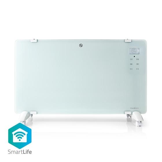 Picture of Termoconvettore Smart Wi-Fi | Termostato | Pannello Anteriore in Vetro | 2000 W | Bianco
