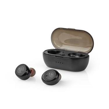 Picture of Auricolari Bluetooth® Completamente Wireless | 4 Ore di Riproduzione | Controllo Vocale | Custodia di Ricarica | Nero