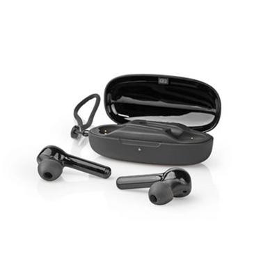 Immagine di Auricolari Bluetooth® Completamente Wireless   6 Ore di Riproduzione   Controllo Vocale   Controllo Touch   Custodia di Ricarica   Nero