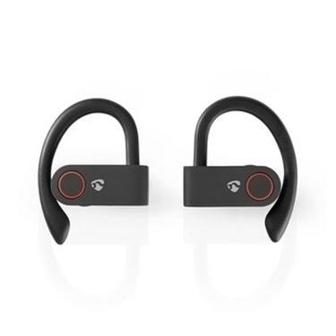 Immagine di Auricolari per lo Sport Bluetooth® Completamente Wireless   8 Ore di Gioco   Archetti per le Orecchie   Controllo Vocale   Custodia di Ricarica   Nero