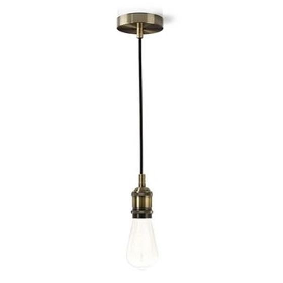 Picture of Luce da soffitto | E27 | Ottone| 1,50 m