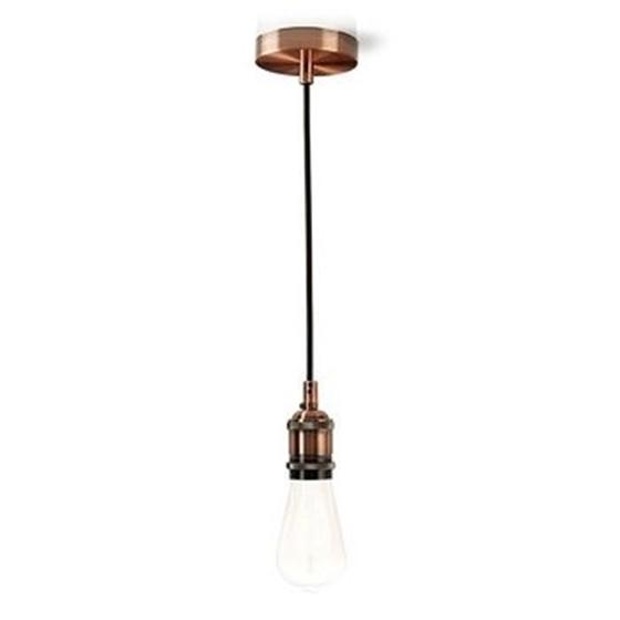 Picture of Luce da soffitto | E27 | Rame | 1,50 m