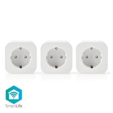 Immagine di Spina Smart Wi-Fi | Schuko Tipo F | 10 A | Confezione da 3