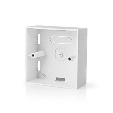 Immagine di Scatola da Incasso | Montaggio su Superficie | 86 x 86 mm | Bianco