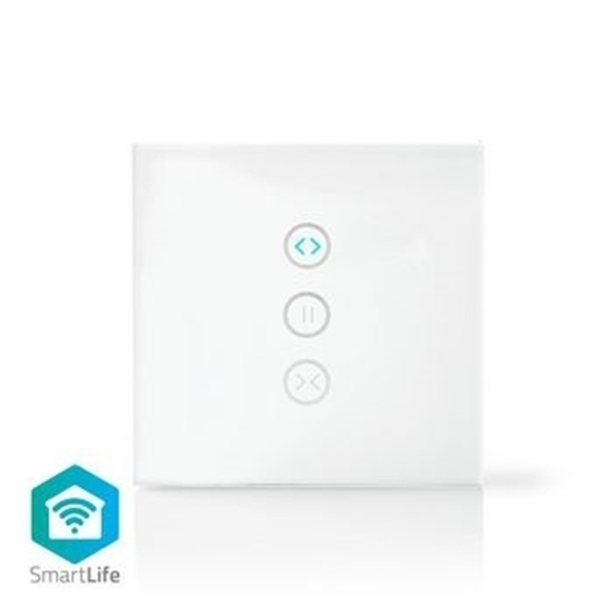 Immagine di Interruttore da parete smart Wi-Fi | Controller tende, persiane e tende da sole