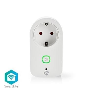 Immagine di Spina Smart Wi-Fi | Monitor alimentazione | Schuko tipo F | 16A