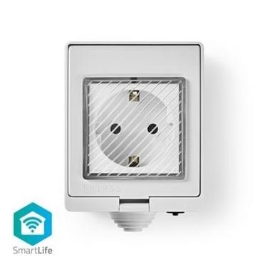 Immagine di Presa da Esterno Smart Wi-Fi | Resistente alle intemperie | IP55 | 10 A