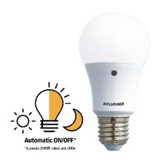 Immagine di E27 LED A60 8.5 W 806 lm 2700 K - LAMPADA CON SENSORE LUCE