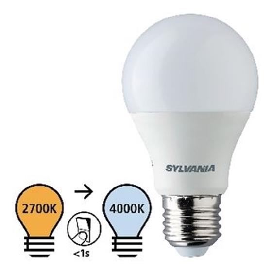 Picture of E27 LED A60 8 W 806 lm 2700-4000 K - REGOLAZIONE DI LUCE