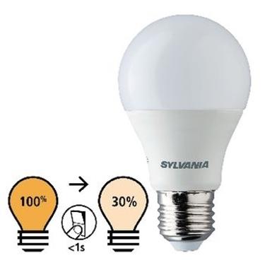 Immagine di E27 LED A60 8.5 W 806 lm 2700 K - CON REGOLAZIONE DI LUCE